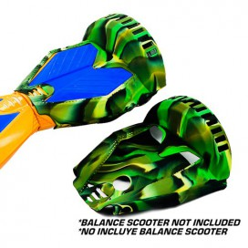 SILICONE COVER BLACK/GREEN CAMO - 8´ BALANCE