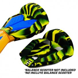 SILICONE COVER BLACK/YELLOW CAMO - 8´ BALANCE