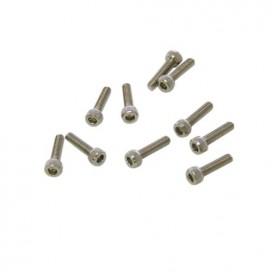 M2,5x12mm CAP HEAD SCREWS (10 pcs)