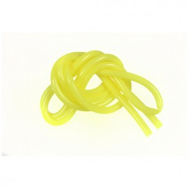 COLOR SILICONE PIPE 1m - YELLOW