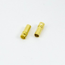 3.5mm BULLET CONNECTOR FEMALE (2pcs)