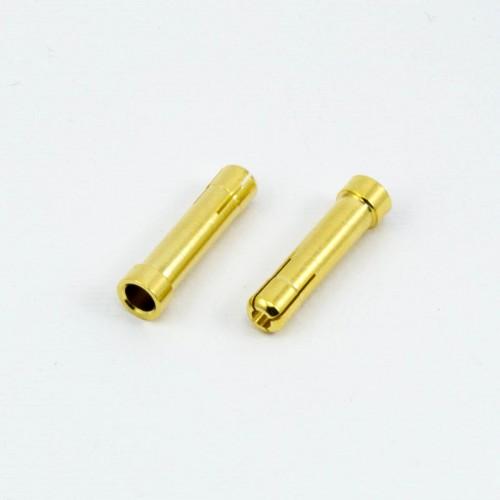 BANANA ADAPTADOR de 4mm MACHO a 5mm HEMBRA (2u.)