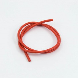 14awg RED SILICONE WIRE (50cm)