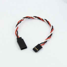 FUTABA SERVO EXTENSION TWIST (15cm)