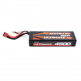ULTIMATE 7.4v. 4500 mAh 60C LiPo BATTERY STICK LW PACK W/DEANS