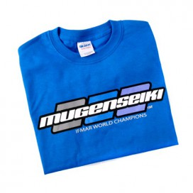 MUGEN SEIKI 3 DOT SHIRT ROYAL BLUE (XL)