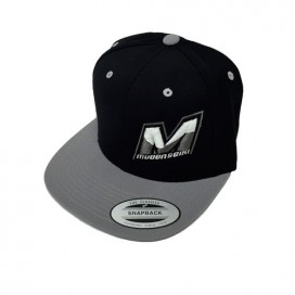 USA CAP BLACK/SILVER