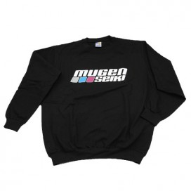 LOGO SWEAT-SHIRT SIZE XL BLACK