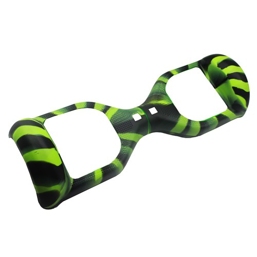 """SILICONE COVER GREEN/BLACK CAMOUFLAGE - 6,5"""""""