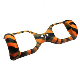 SILICONE COVER ORANGE CAMOUFLAGE/BLACK - 6,5""
