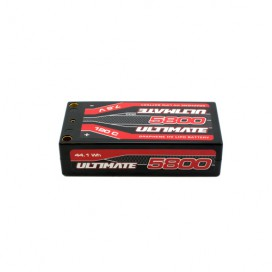ULTIMATE GRAPHENE HV LiPo SHORTY LCG 8500 7.6V 120C 5mm TUBES