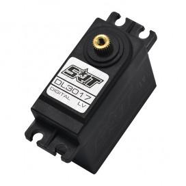 DL3017 LV 1/8-1/10 RTR PLASTIC CASE 17KG 0.15S DIGITAL SERVO