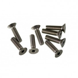 M4x15 F/H TITANIUM SCREW