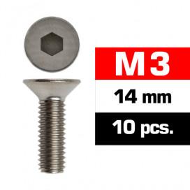 TORNILLOS M3x14mm AVELLANADO (10u.)