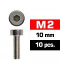 TORNILLOS M2x10mm CILINDRICO (10u.)