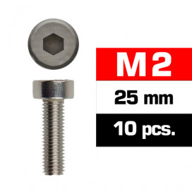 TORNILLOS M2x25mm CILINDRICO (10u.)