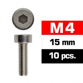 TORNILLOS M4x15mm CILINDRICO (10u.)