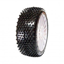 "1/8 OFF-ROAD ""SPORT SERIES"" ""PREDATOR"" ""SPORT SERIES"" 83MM WHITE DISH RIMS"