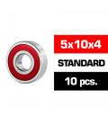 "5x10x4mm ""HS"" RUBBER SEALED BEARING SET (10pcs)"