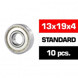 "13x19x4mm ""HS"" METAL SHIELDED BEARING SET (10pcs)"