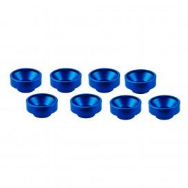 M3 ALUMINUM SERVO WASHER BLUE (8 pcs)