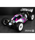 VISION CLEAR 1/8 BUGGY BODY MUGEN MBX8 PRE-CUT NITRO