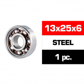 "13x25x6mm STEEL ""HS"" REAR ENGINE BEARING (M4R) (1pc)"
