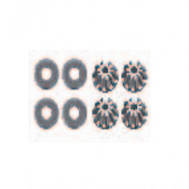 DIFERENTIAL ASTEROIDS TOOTH 10T (4pcs.)12423-12427-12429