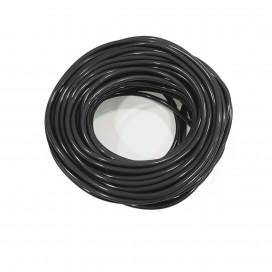 SILICONE FUEL LINE (TRNASLUCENT BLACK) 25m.