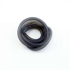 SILICONE FUEL LINE (TRANSLUCENT BLACK) 1m.