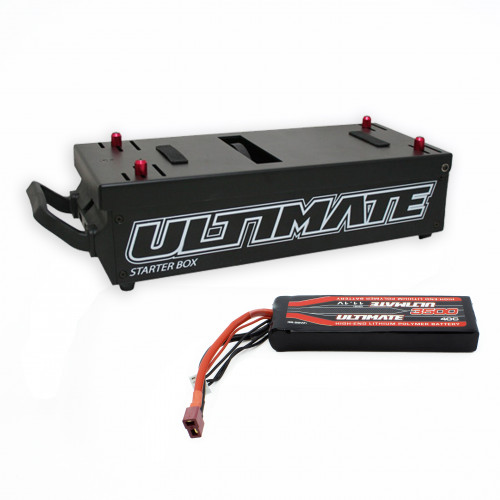 COMBO ULTIMATE RACING STARTER BOX WITH 11.1V. 3500mAh LiPo BATTERY STICK T-DEAN
