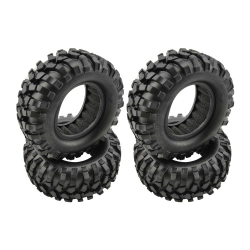 "PLUNK 1.9"" CRAWLER TIRES W/FOAM Ø95mm (4pcs)"