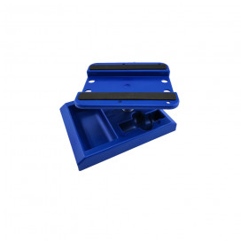 CAR STAND BLUE