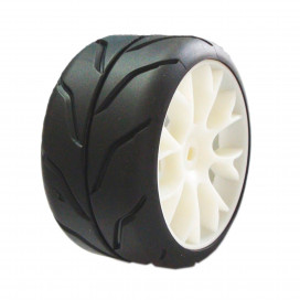 1/5 ON ROAD SPORT SOFT LLANTA BLANCA (2u.)