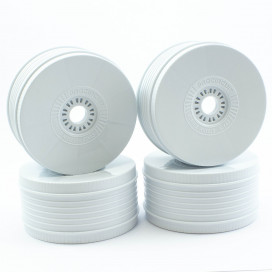 PROCIRCUIT VORTEX WHEELS V2 WHITE (4pcs)