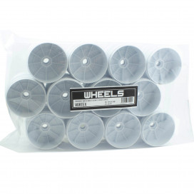 PROCIRCUIT VORTEX WHEELS V2 WHITE IN BULK (24pcs)