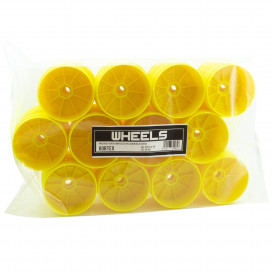 PROCIRCUIT VORTEX WHEELS V2 YELLOW IN BULK (24pcs)
