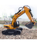 HUINA 1580 1/14 SCALE 2,4G 23CH ALL-METAL RC EXCAVATOR