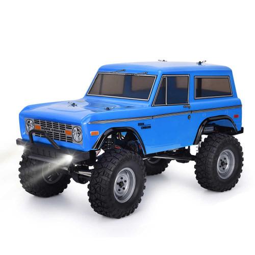 ROCK CRUISER RC4 4x4 RTR 1:10 WATERPROOF TRAIL CRAWLER BLUE RGT136100-B