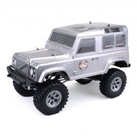 ROCK CRUISER RC4 4x4 RTR 1:10 WATERPROOF TRAIL CRAWLER METALLIC GREY RGT136100-MG