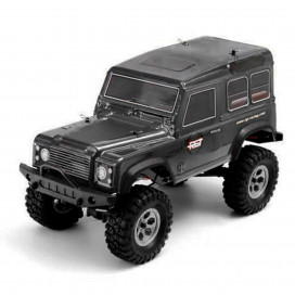 ROCK CRUISER RC4 4x4 RTR 1:10 WATERPROOF TRAIL CRAWLER BLACK RGT136100-BK