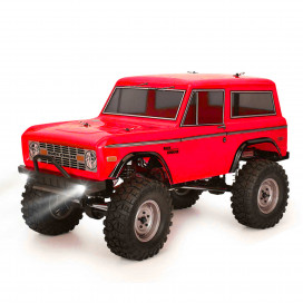 ROCK CRUISER RC4 4x4 RTR 1:10 WATERPROOF TRAIL CRAWLER RED RGT136100-R