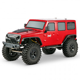 COCHE CRAWLER ROCK CRUISER 1/10 RGT86100-R 4X4 WATERPROOF ROJO RTR