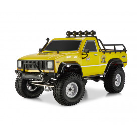 PICKUP 4X4 RTR 1:10 WATERPROOF CRAWLER YELLOW RGT86110-Y
