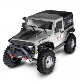 ROCK CRUISER 4x4 RTR 1:10 WATERPROOF CRAWLER SILVER RGT86010JK-S