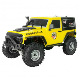 ROCK CRUISER 4x4 RTR 1:10 WATERPROOF CRAWLER YELLOW RGT86010JK-Y