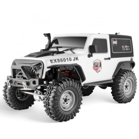 ROCK CRUISER 4x4 RTR 1:10 WATERPROOF CRAWLER WHITE RGT86010JK-W