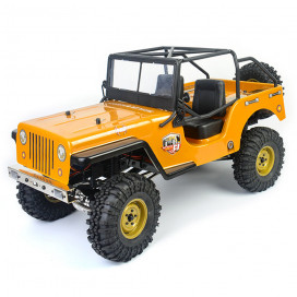 JEEP 4X4 RTR 1:10 WATERPROOF CRAWLER CAMEL RGT86010CJ-BR