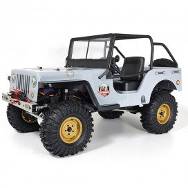 JEEP 4X4 RTR 1:10 WATERPROOF CRAWLER LIGHT GREY RGT86010CJ-LG