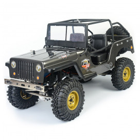 JEEP 4X4 RTR 1:10 WATERPROOF CRAWLER DARK GREY RGT86010CJ-DG